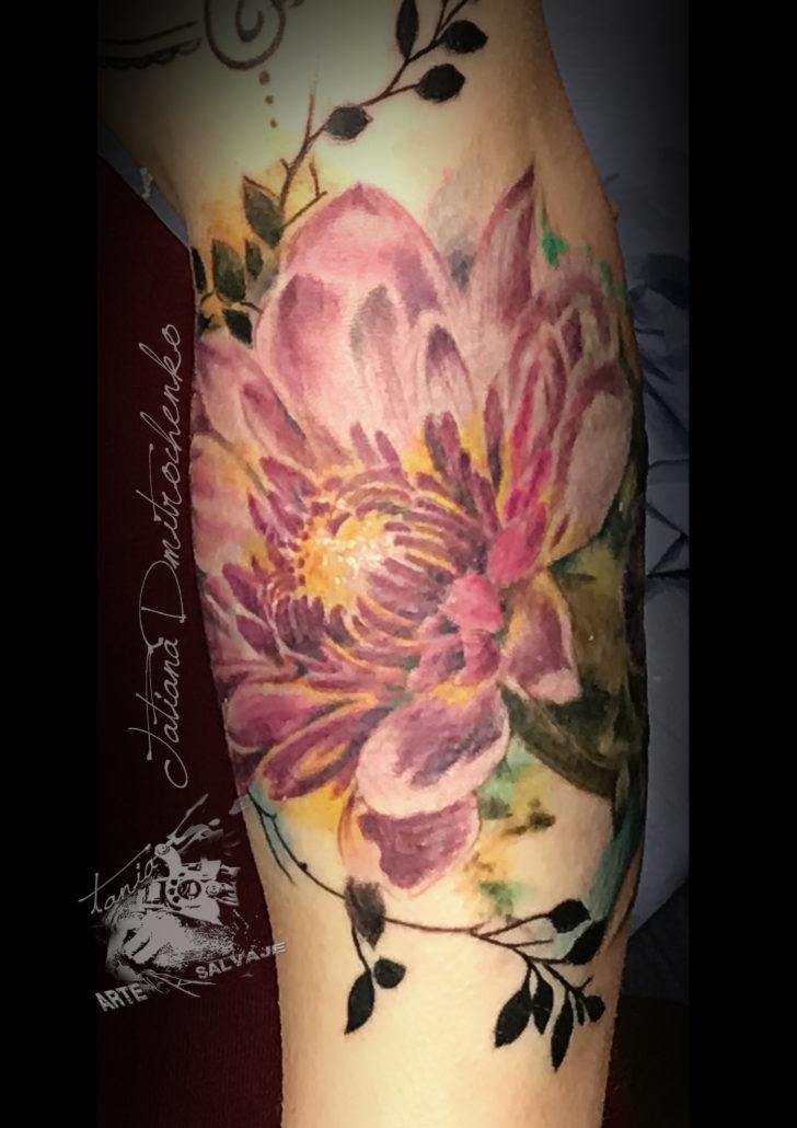 tatuaje eliminacion con laser cover up flores valencia
