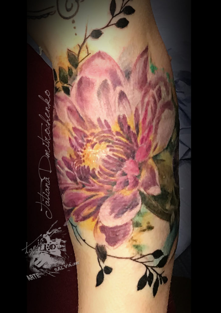 tattoo tatuaje cover up con laser flowers roses rosas valencia