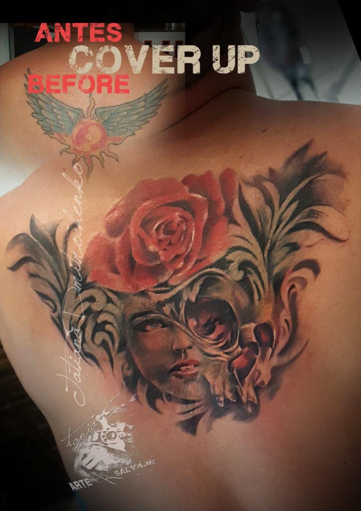 tatuaje fantasia cover up valencia