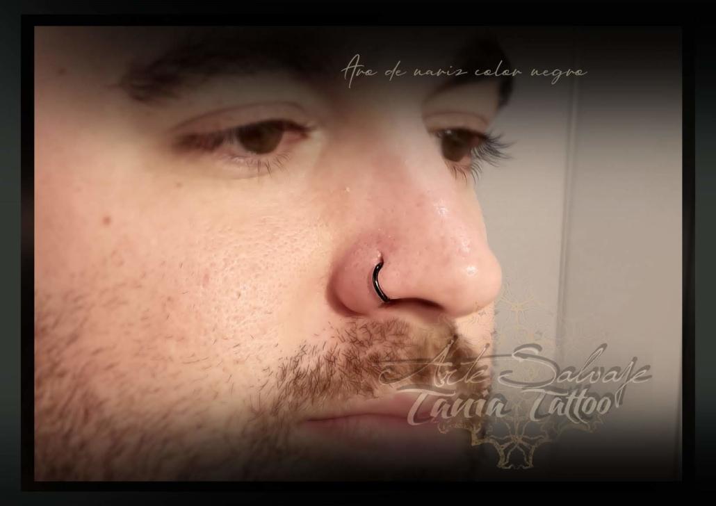piercing aro nariz arte salvaje valencia 2020