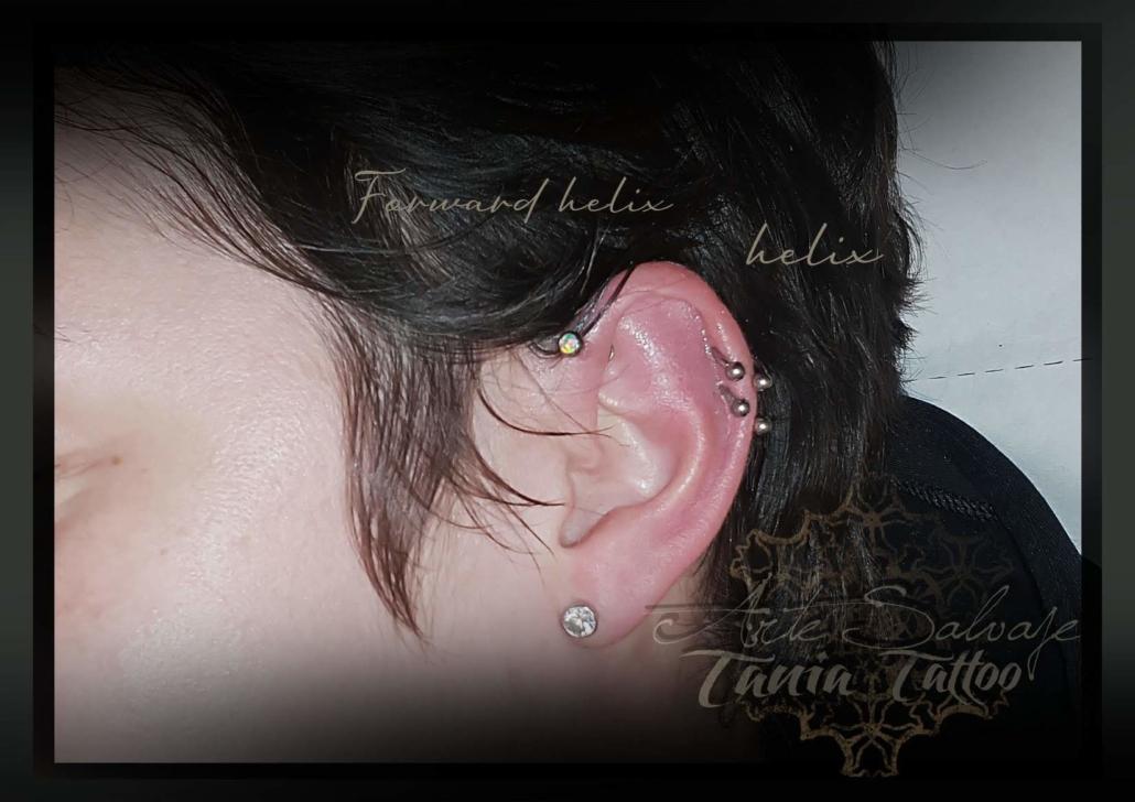 piercing helix arte salvaje valencia 2020