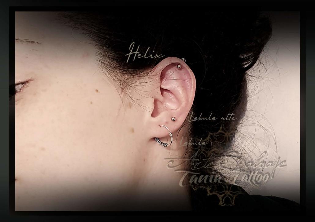 piercing helix lobulo arte salvaje valencia 2020