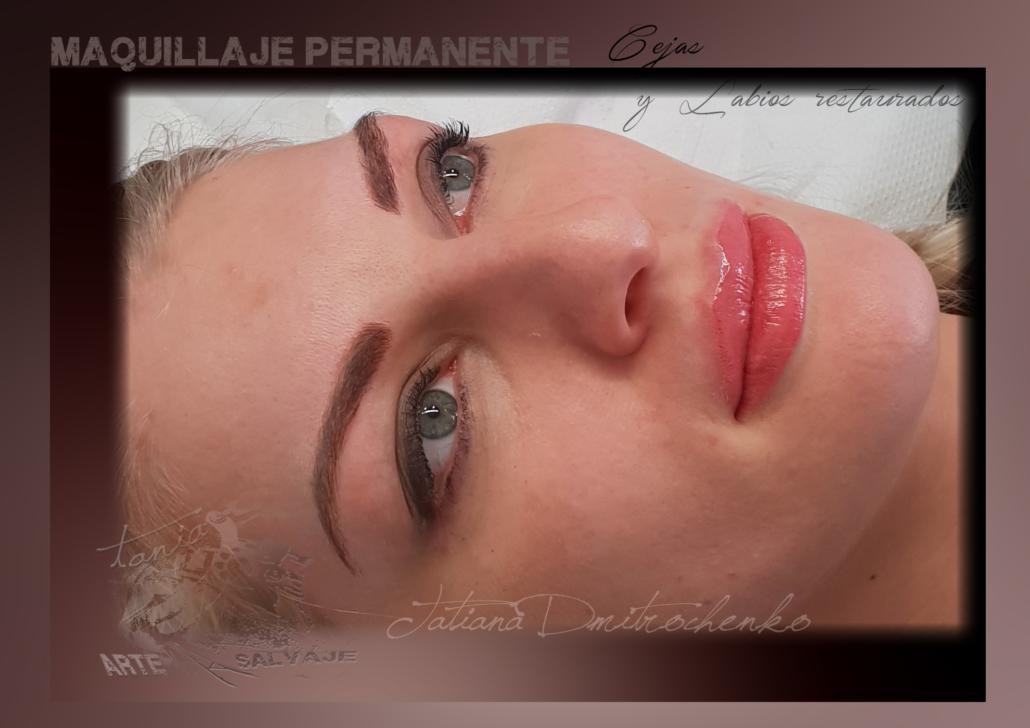 micropigmentacion cejas pelo a pelo rubias microblading labios restaurados efecto pintalabios rosa valencia