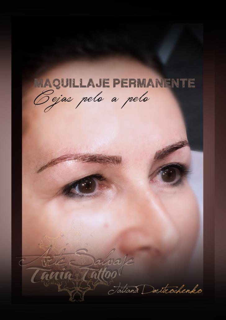 micropigmentacion de los ojos eyeliner y cejas pelo a pelo microblading valencia