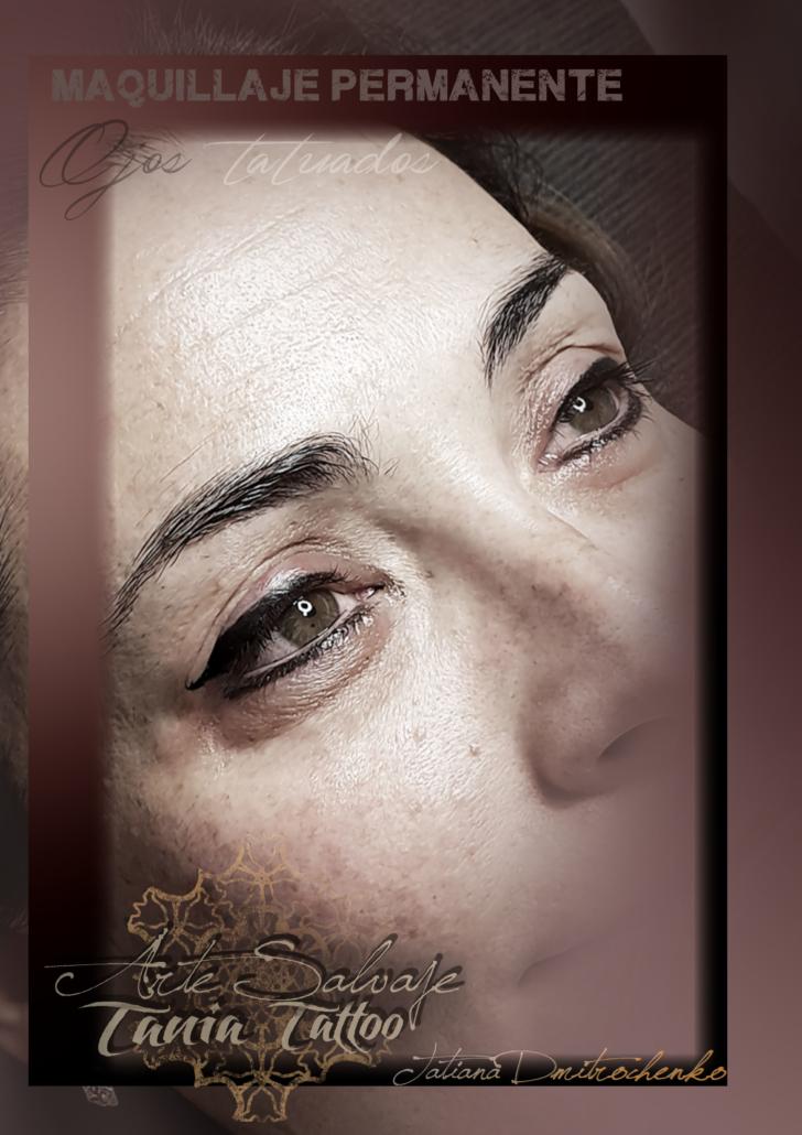 micropigmentacion ojos tatuados eyeliner valencia contorno
