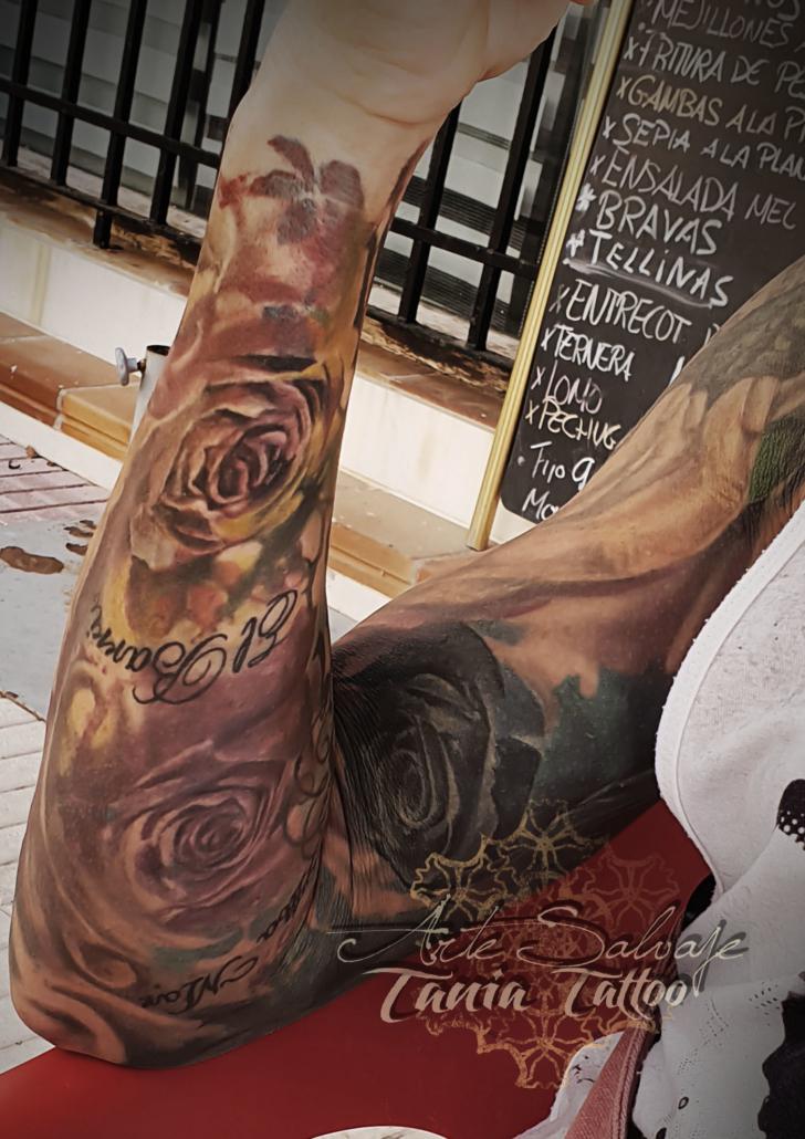 tatuajes de mis clientes tatuados valencia