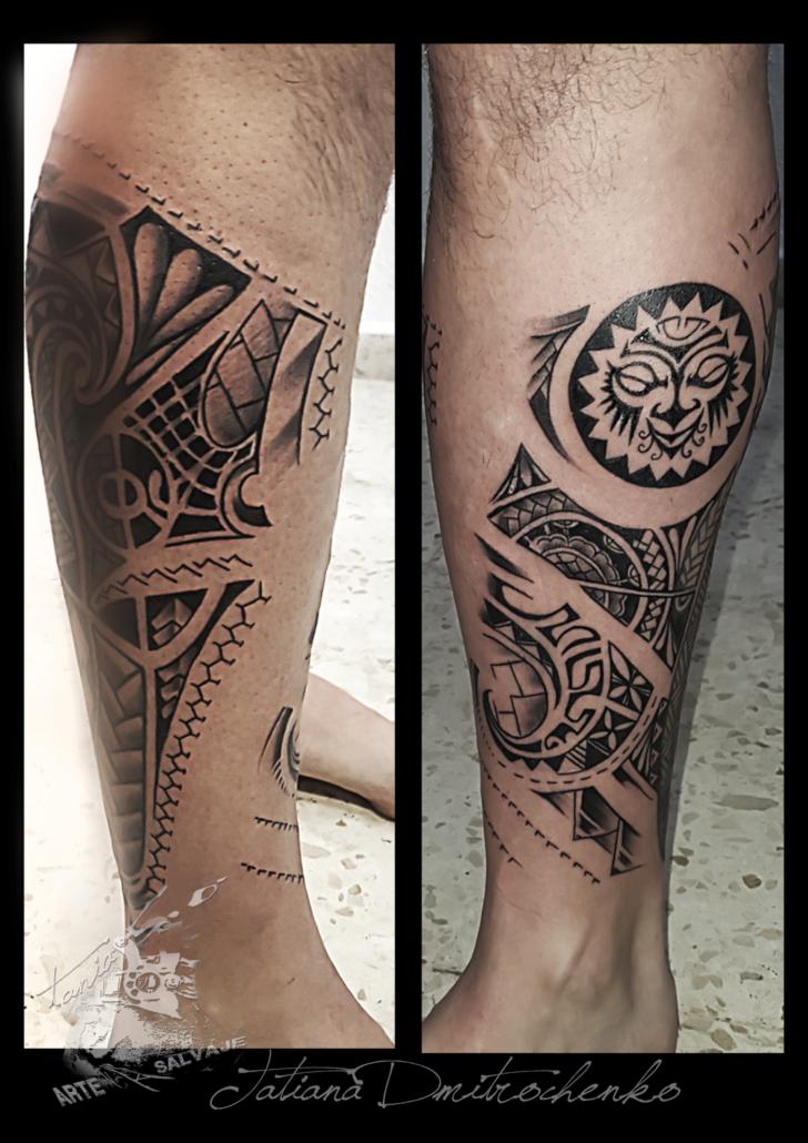 tatuaje maorie maori valencia