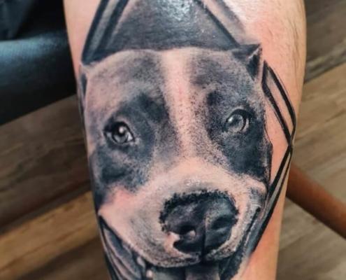 Tattoo Perro - Taniatattoo