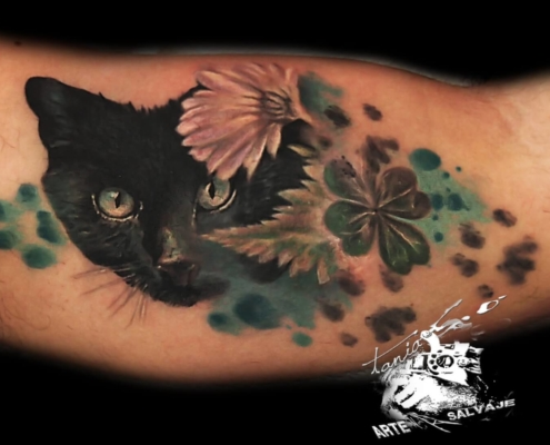 Tatuaje Gatos