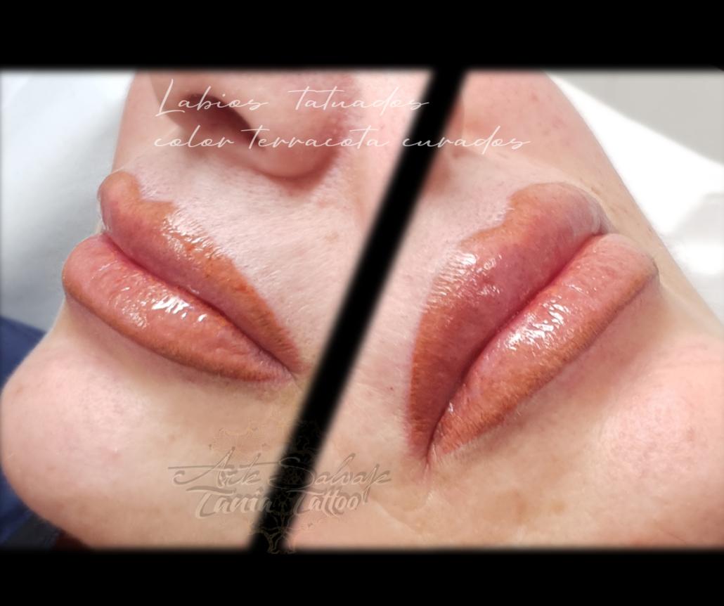 labios perfectos tatuados en valencia micropigmentacion acuarela