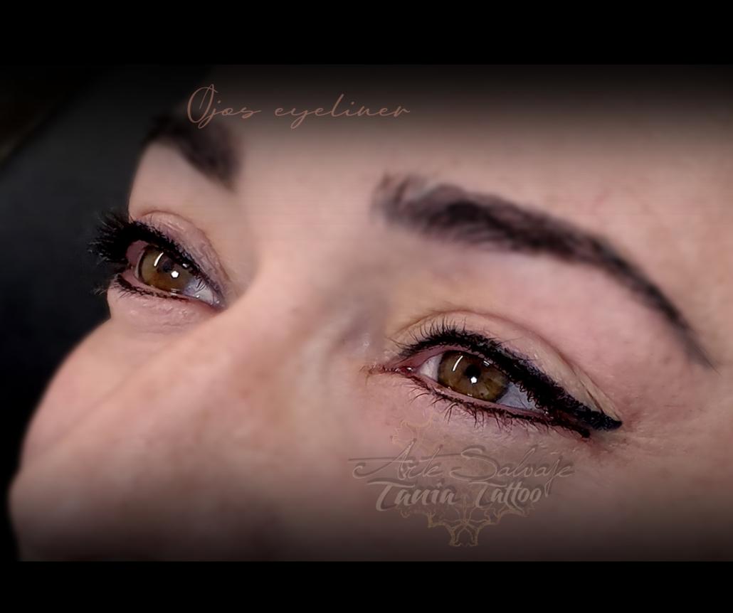 ojos tatuados eyeliner micropigmentacion en valencia para laura